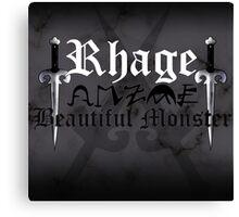 Rhage - [ the Black Dagger Brotherhood ] Canvas Print