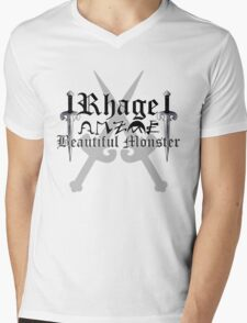 Rhage - [ the Black Dagger Brotherhood ] Mens V-Neck T-Shirt
