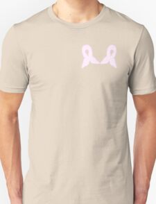 Pink Celled Ribbon Unisex T-Shirt