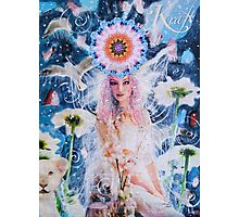 The Power Of The Divine Feminine Photographic Print