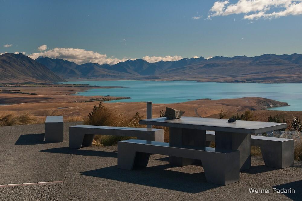 Overlooking Lake Tekapo by Werner Padarin