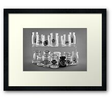 Cream With Your Coffee? Framed Print