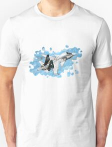 SU27 Splatter  Unisex T-Shirt