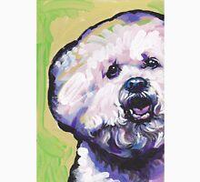 Bichon frise Bright colorful pop dog art Unisex T-Shirt