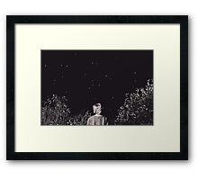 Starry, starry night. Framed Print