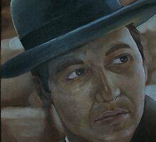 Al Pacino as Michael Corleone by scarletmoon