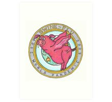 Swine Flu World Pandemic 2009 Art Print