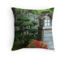 Portland Japanese Garden Throw Pillow