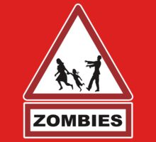 Beware zombies Kids Tee