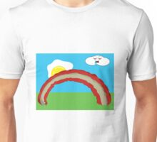 Bacon Rainbow Unisex T-Shirt
