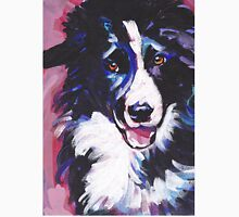 Border Collie Bright colorful pop dog art Unisex T-Shirt