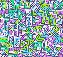 Labyrinth simplified by Elena Belokrinitski