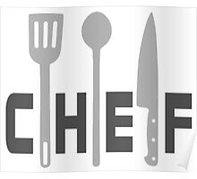 Chef tools Poster