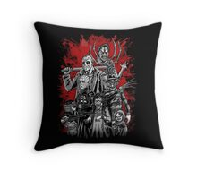 Horror League ver.2 Throw Pillow