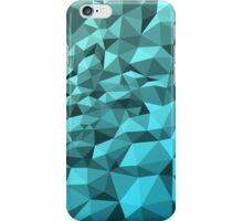 Abstract Polygon Blue Design iPhone Case/Skin