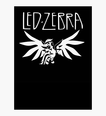 Led Zebra Photographic Print