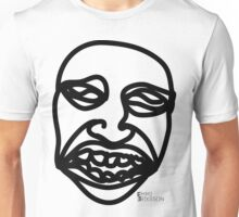 The face of misery Unisex T-Shirt