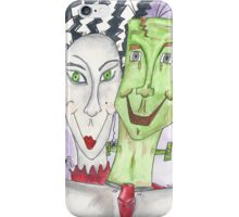 Mr. and Mrs. Frankenstein iPhone Case/Skin