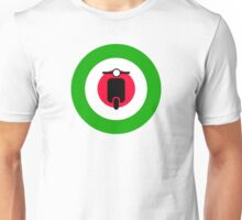 Scooter target - Mods Italy Unisex T-Shirt