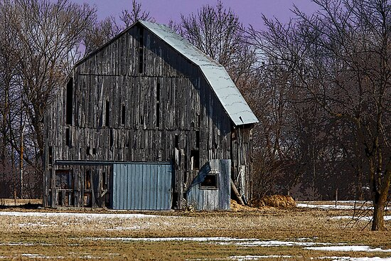 Another old barn by Jim Cumming