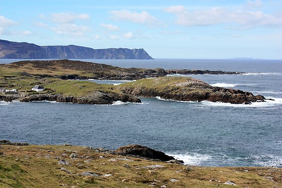 Rugged Donegal Coast by CFoley