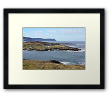 Rugged Donegal Coast Framed Print