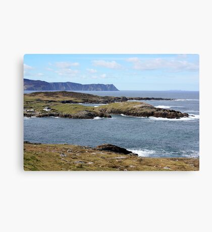 Rugged Donegal Coast Canvas Print