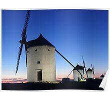 windmill of consuegra Poster