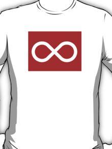 Red Métis Flag T-Shirt