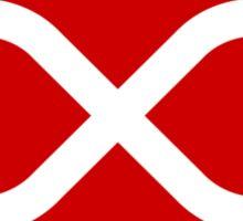 Red Métis Flag Sticker