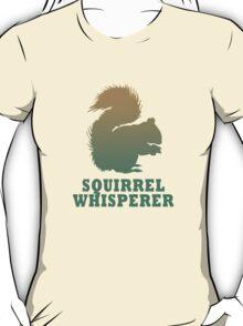Vintage squirrel whisperer geek funny nerd T-Shirt
