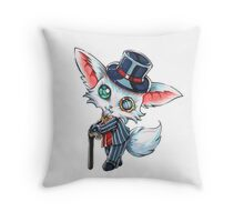 Chibi Gentleman Gnar Throw Pillow