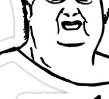 Wat what lady meme geek funny nerd Sticker