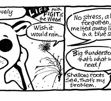 Life with Figit and the Weed.#4 (The Vacation)  by John Sunderland