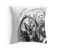 bug eye Throw Pillow
