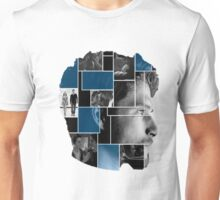 Tyler Posey Face Squares Unisex T-Shirt