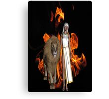 Walk of Fire Canvas Print