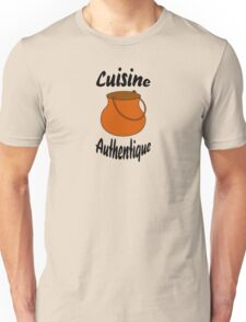 Cuisine authentique Unisex T-Shirt