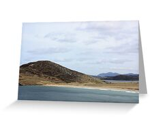 Mountain Beach -  Donegal, Ireland Greeting Card