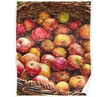 Apple Basket 1 Poster