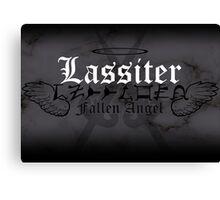 Lassiter - [ the Black Dagger Brotherhood ] Canvas Print