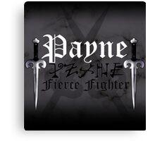 Payne - [ the Black Dagger Brotherhood ] Canvas Print
