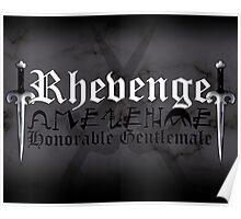 Rhevenge - [ the Black Dagger Brotherhood ] Poster
