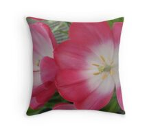 Two Petals in a Pod Throw Pillow