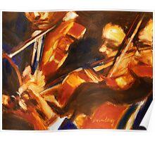 Violinists Poster