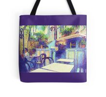 Bar  in Ramatuelle, France Tote Bag