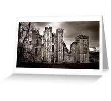 Tudor Nobleman's House - Cowdray, Midhurst Greeting Card