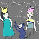 fantasy illustration by Mavri  Gata