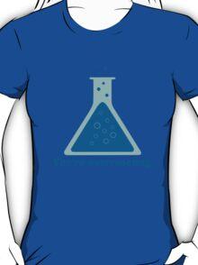 You're overreacting chemistry science beaker geek funny nerd T-Shirt