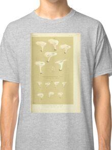Illustrations of British Fungi by Mordecai Cubitt Cook 1891 V3 0231 AGARICUS  CLITOPILUS  CRETATUS Classic T-Shirt